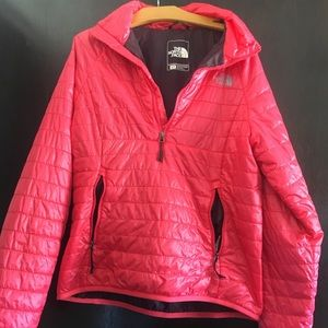 North Face 3/4 Zip Synthetic Shell